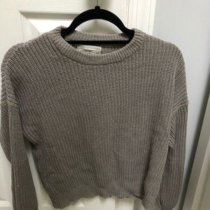 Urban Outfitters crew neck cropped sweater